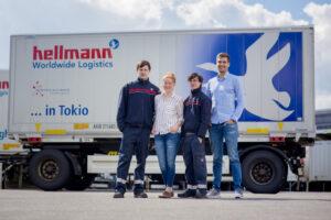Hellmann East Europe Ausbildung Jugendliche LKW
