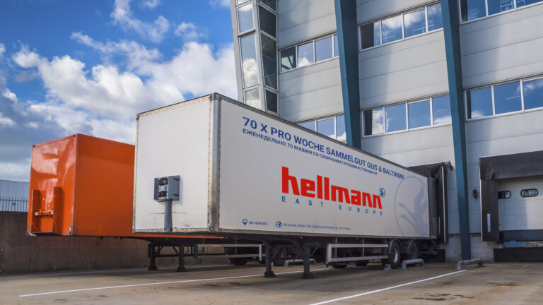 Sammelgut Hellmann East Europe