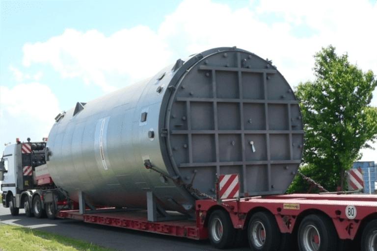 Übermaßtransport Spedition Hellmann East Europe