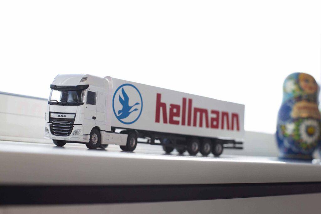 Spedition Russland Hellmann East Europe