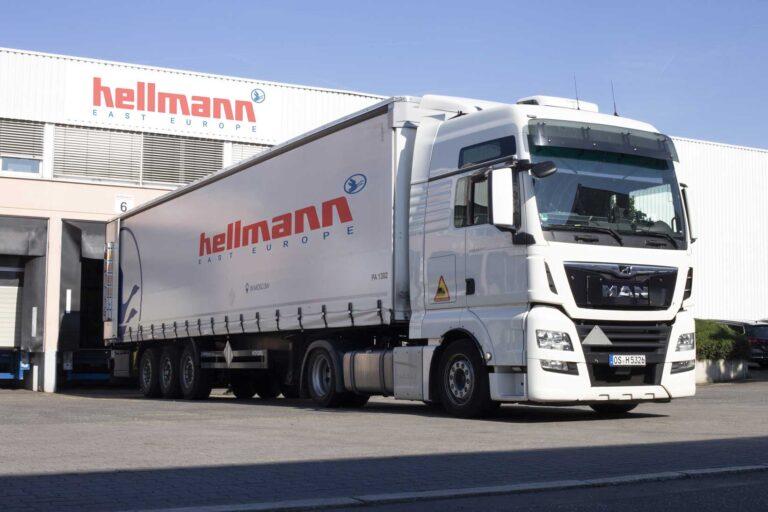 Hellmann East Europe Spedition Stückgut, Hellmann Hanau